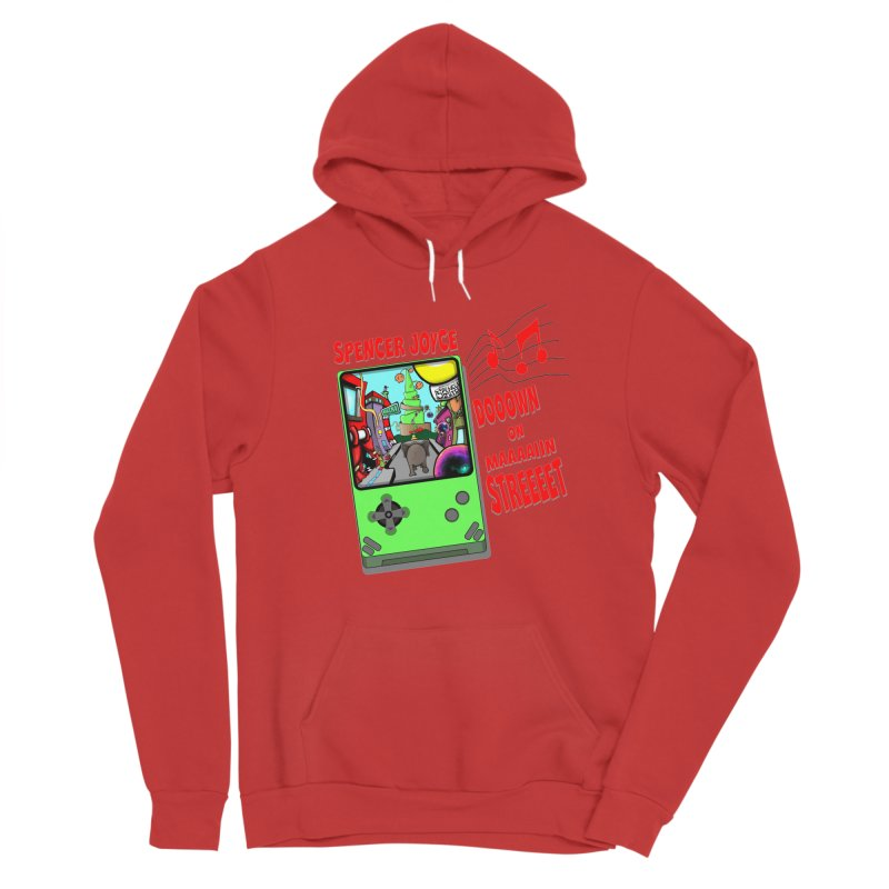 Down on Main Street Men's Pullover Hoody by MD Design Labs's Artist Shop