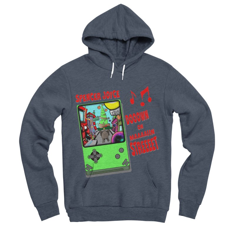 Down on Main Street Men's Sponge Fleece Pullover Hoody by MD Design Labs's Artist Shop