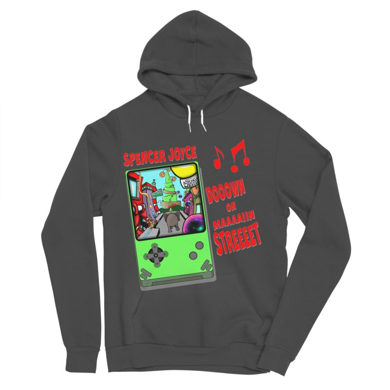 Down on Main Street Men's Sponge Fleece Pullover Hoody by MD Design Labs's Artist Shop