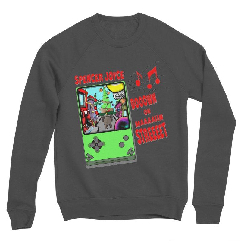 Down on Main Street Men's Sponge Fleece Sweatshirt by MD Design Labs's Artist Shop