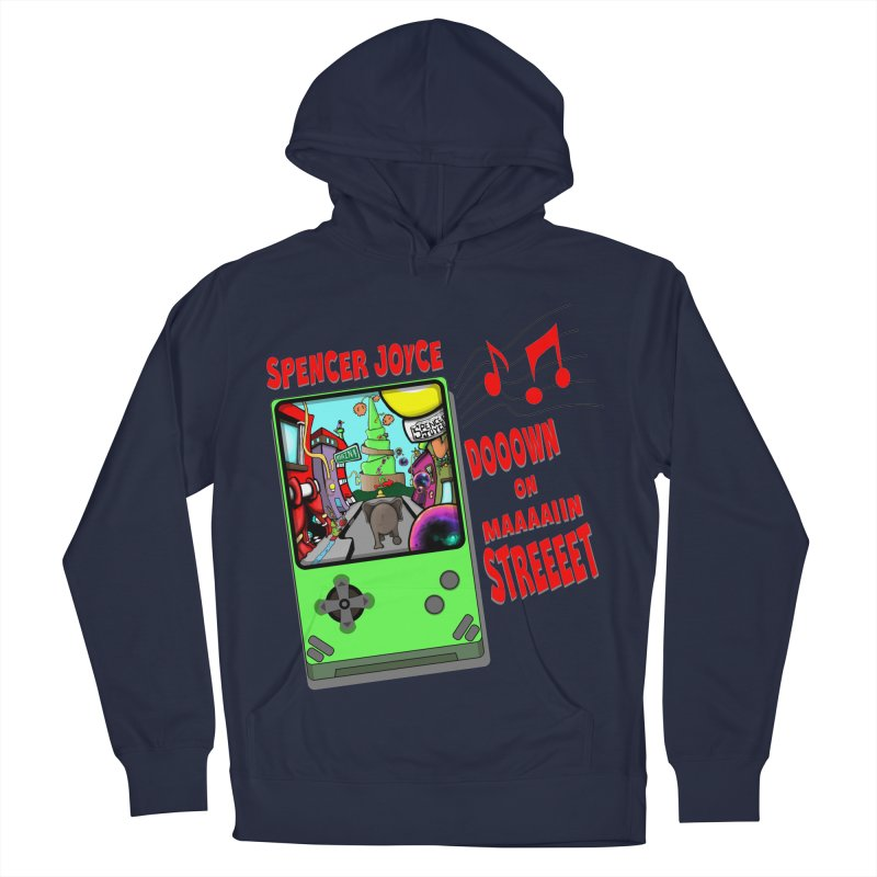 Down on Main Street Women's French Terry Pullover Hoody by MD Design Labs's Artist Shop