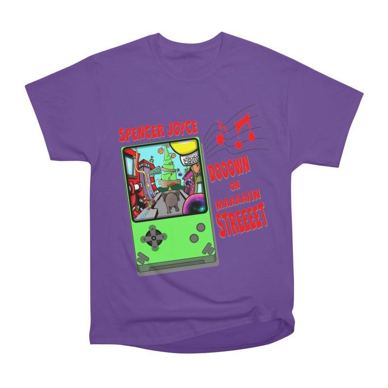 Down on Main Street Women's Heavyweight Unisex T-Shirt by MD Design Labs's Artist Shop