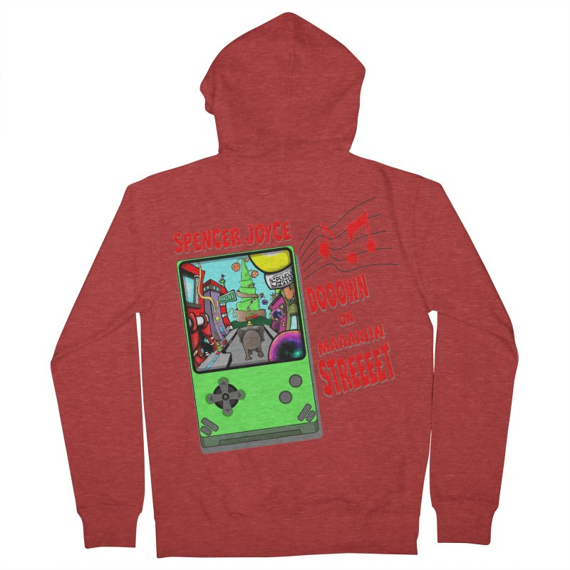 Down on Main Street Women's French Terry Zip-Up Hoody by MD Design Labs's Artist Shop