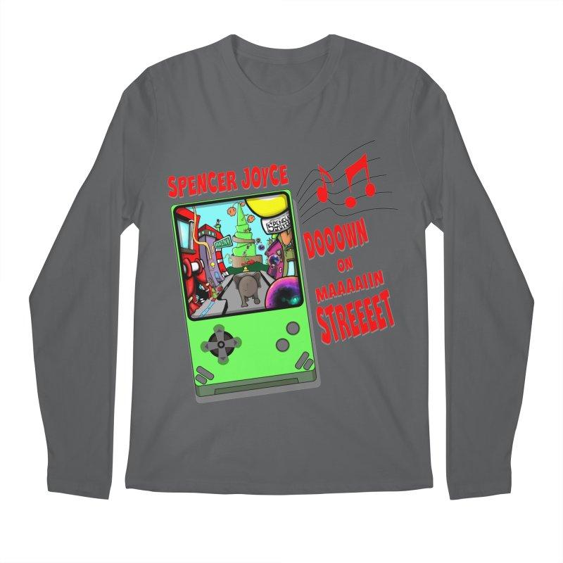 Down on Main Street Men's Regular Longsleeve T-Shirt by MD Design Labs's Artist Shop