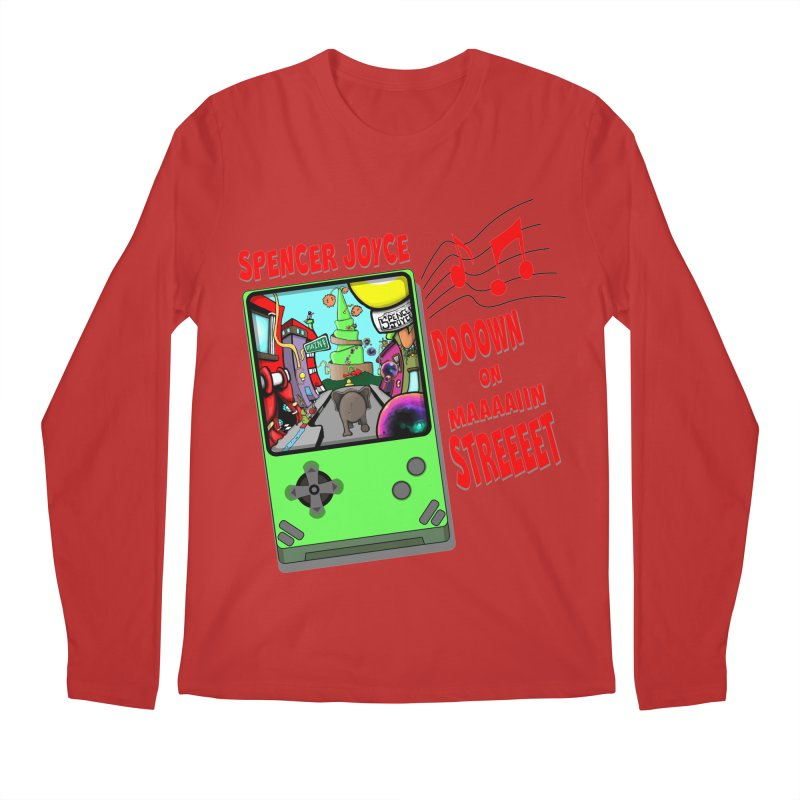 Down on Main Street Men's Regular Longsleeve T-Shirt by MD Design Labs's Artist Shop