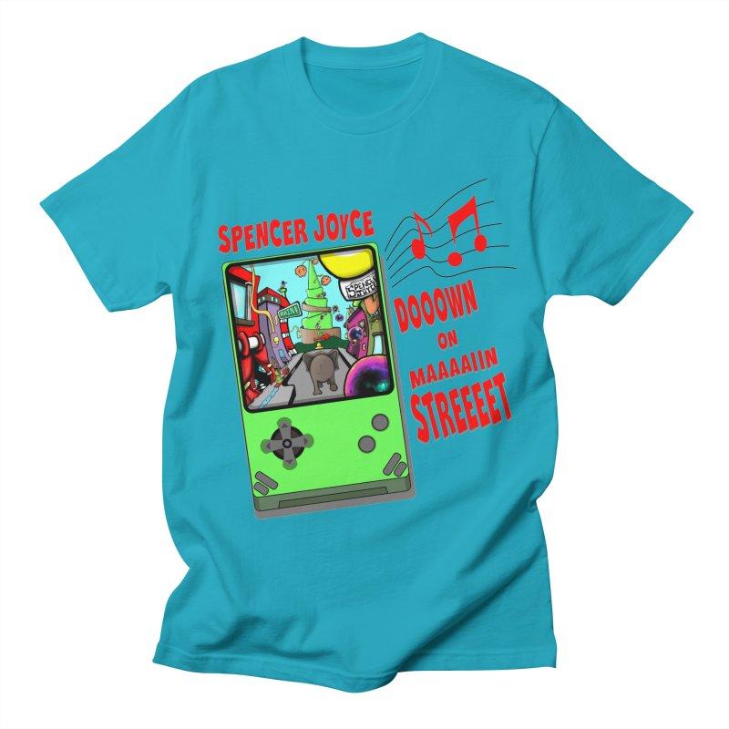 Down on Main Street Women's Regular Unisex T-Shirt by MD Design Labs's Artist Shop