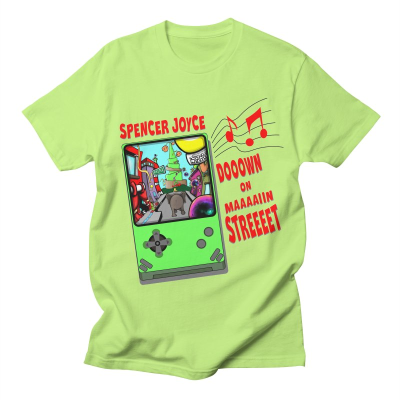 Down on Main Street Men's Regular T-Shirt by MD Design Labs's Artist Shop