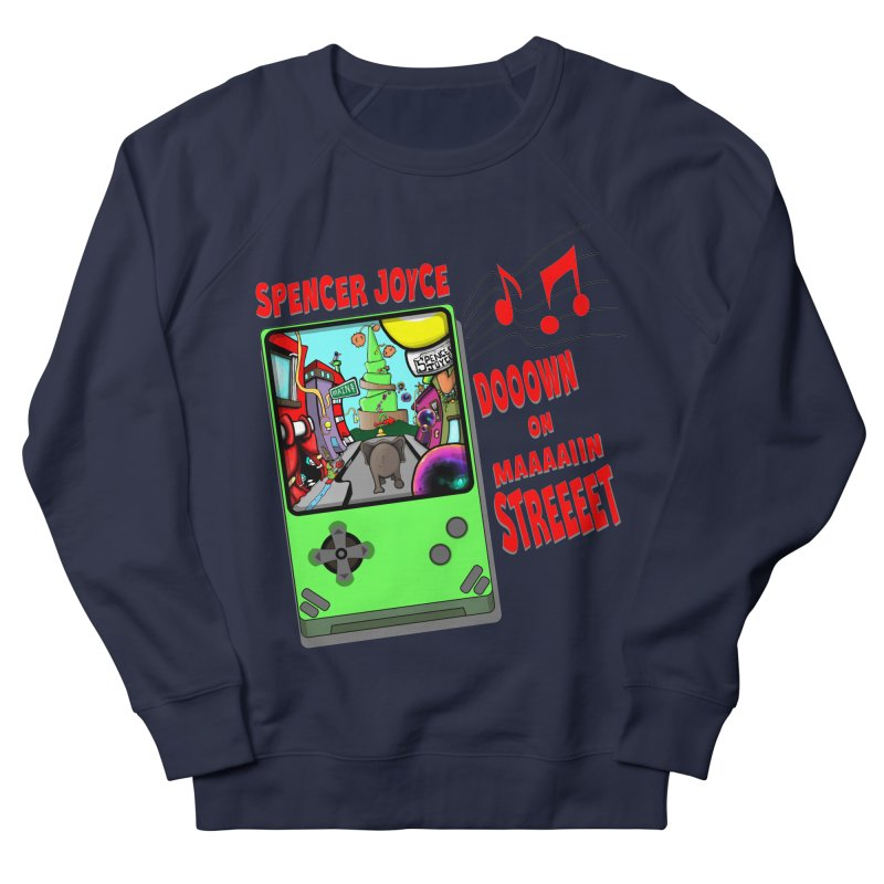 Down on Main Street Women's French Terry Sweatshirt by MD Design Labs's Artist Shop