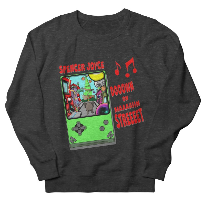 Down on Main Street Men's French Terry Sweatshirt by MD Design Labs's Artist Shop