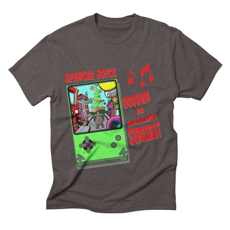 Down on Main Street Men's Triblend T-Shirt by MD Design Labs's Artist Shop