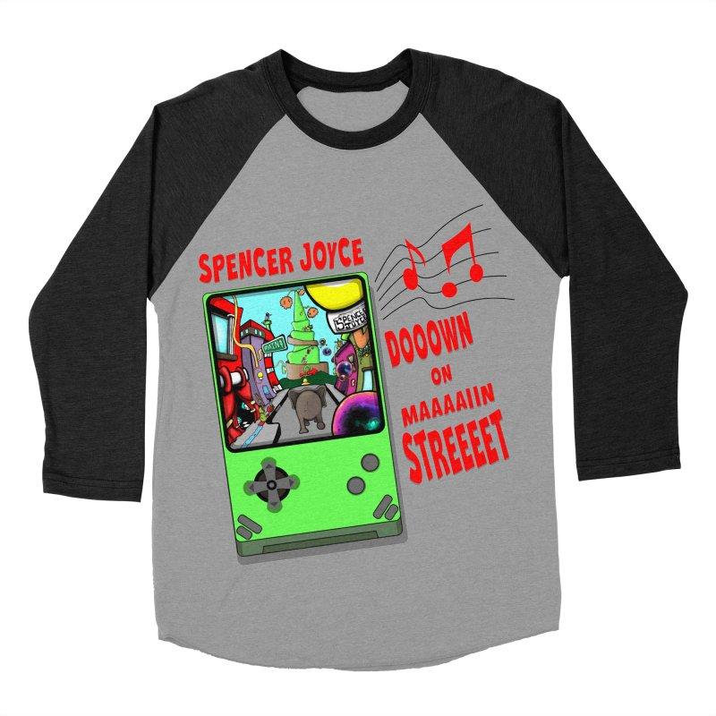 Down on Main Street Women's Baseball Triblend Longsleeve T-Shirt by MD Design Labs's Artist Shop