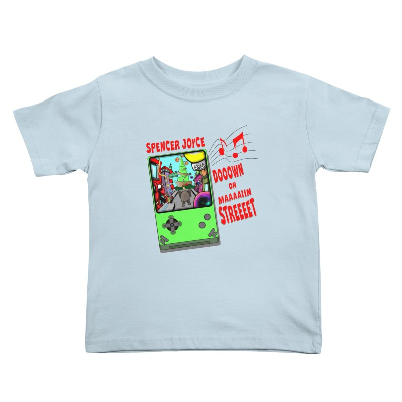 Down on Main Street Kids Toddler T-Shirt by MD Design Labs's Artist Shop