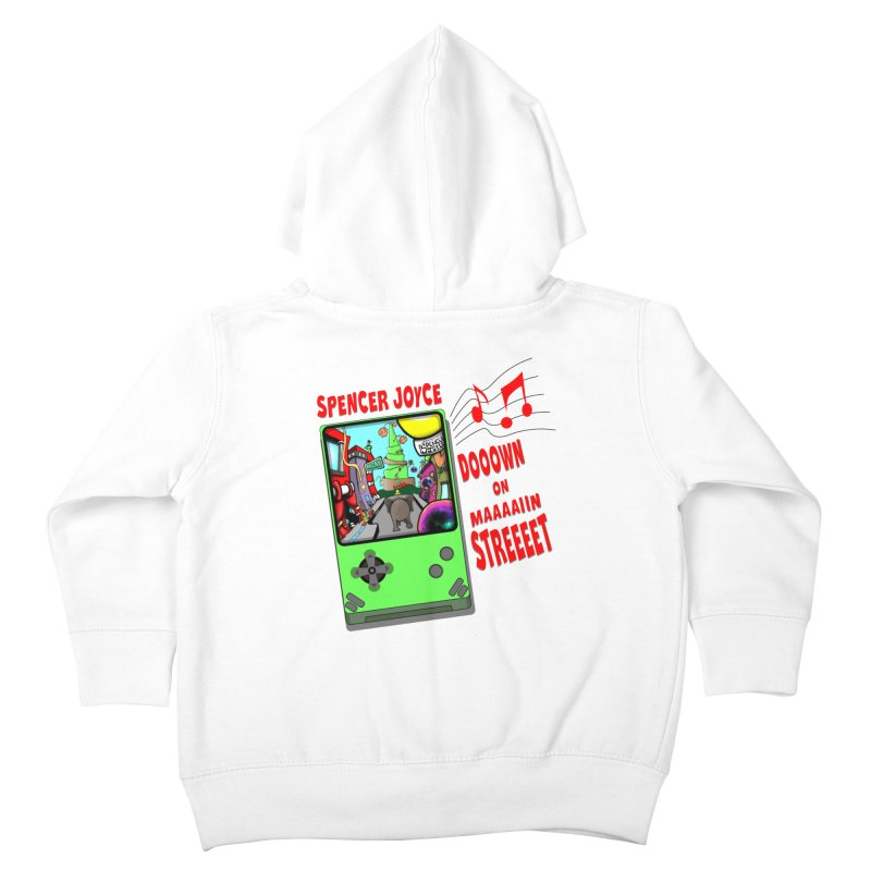Down on Main Street Kids Toddler Zip-Up Hoody by MD Design Labs's Artist Shop