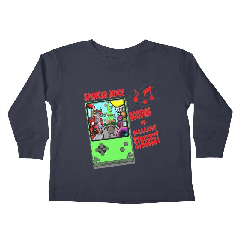 Down on Main Street Kids Toddler Longsleeve T-Shirt by MD Design Labs's Artist Shop