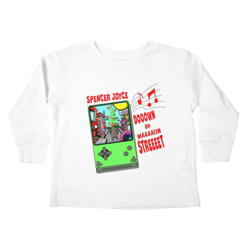 Down on Main Street Kids Toddler Longsleeve T-Shirt by MD Design Labs's Artist Shop