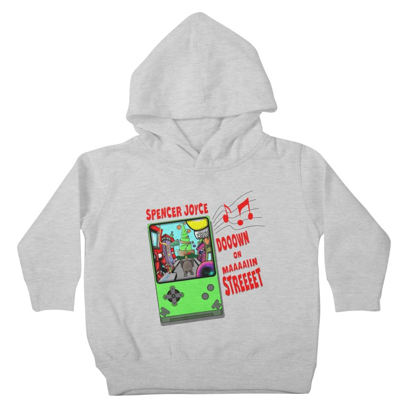 Down on Main Street Kids Toddler Pullover Hoody by MD Design Labs's Artist Shop