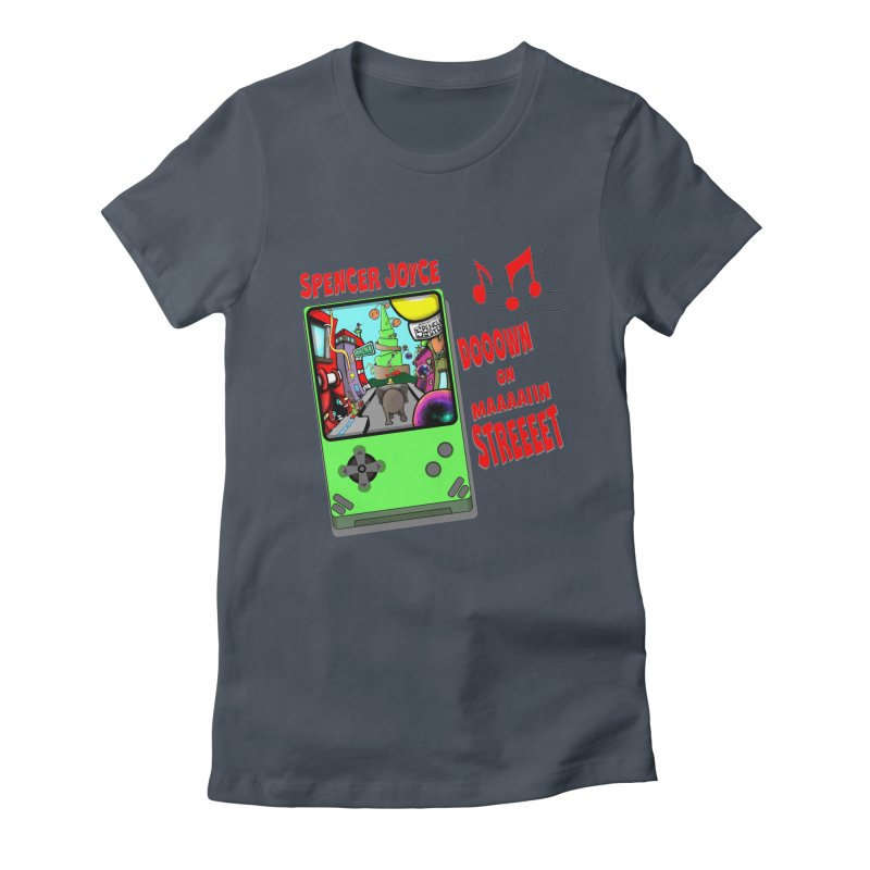 Down on Main Street Women's T-Shirt by MD Design Labs's Artist Shop