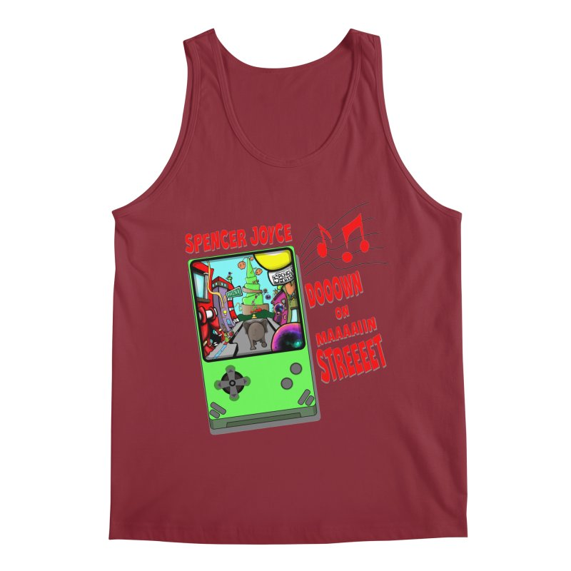 Down on Main Street Men's Regular Tank by MD Design Labs's Artist Shop