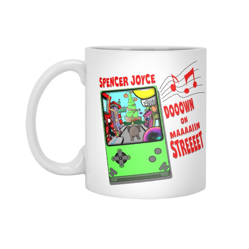 Down on Main Street Accessories Standard Mug by MD Design Labs's Artist Shop