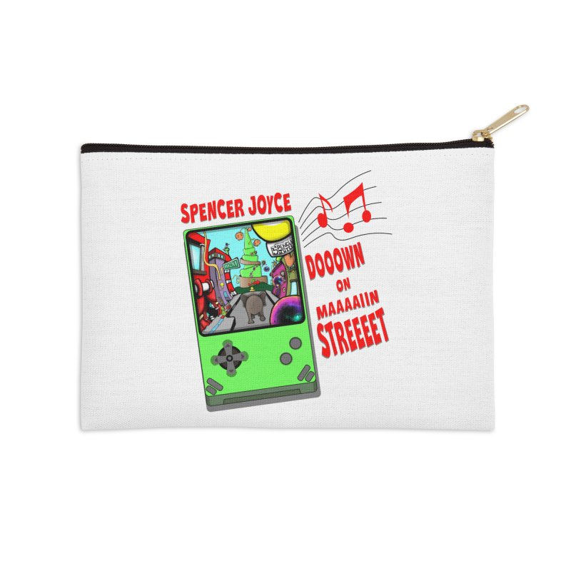 Down on Main Street Accessories Zip Pouch by MD Design Labs's Artist Shop
