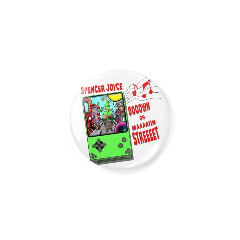 Down on Main Street Accessories Button by MD Design Labs's Artist Shop
