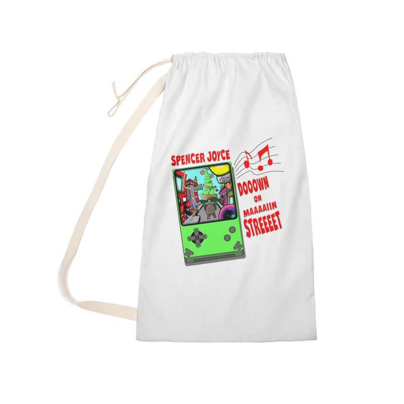 Down on Main Street Accessories Laundry Bag Bag by MD Design Labs's Artist Shop