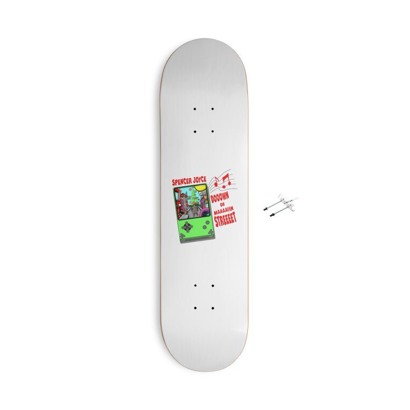 Down on Main Street Accessories With Hanging Hardware Skateboard by MD Design Labs's Artist Shop