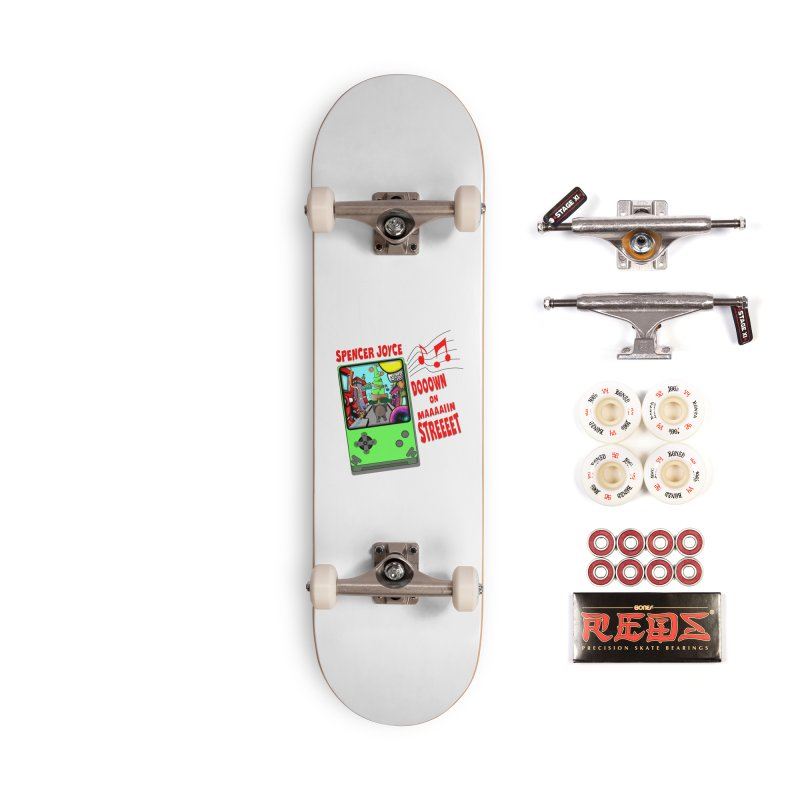 Down on Main Street Accessories Complete - Pro Skateboard by MD Design Labs's Artist Shop