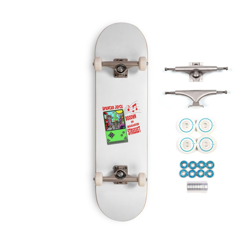 Down on Main Street Accessories Complete - Basic Skateboard by MD Design Labs's Artist Shop