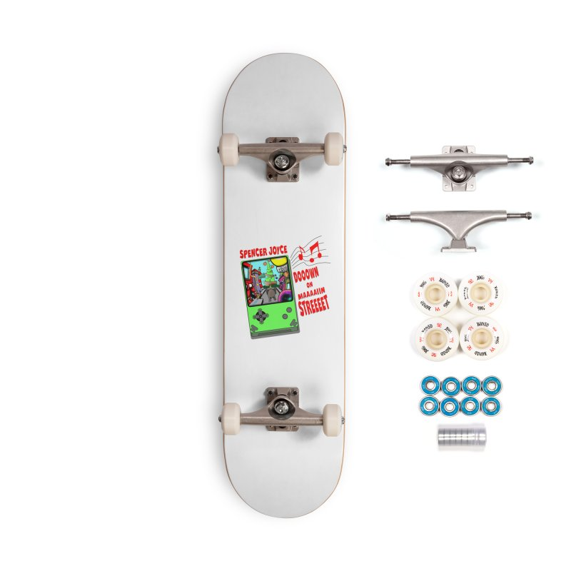 Down on Main Street Accessories Complete - Premium Skateboard by MD Design Labs's Artist Shop