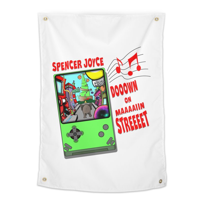 Down on Main Street Home Tapestry by MD Design Labs's Artist Shop