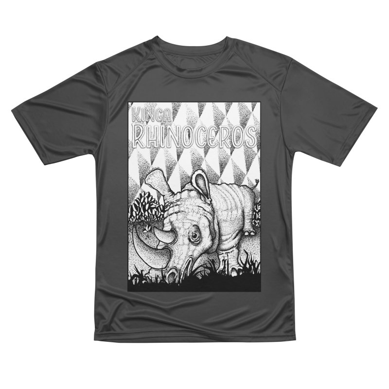 Kinga Rhinoceros Men's Performance T-Shirt by MD Design Labs's Artist Shop
