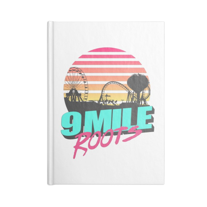 9 Mile Roots Ocean City Accessories Lined Journal Notebook by MD Design Labs's Artist Shop