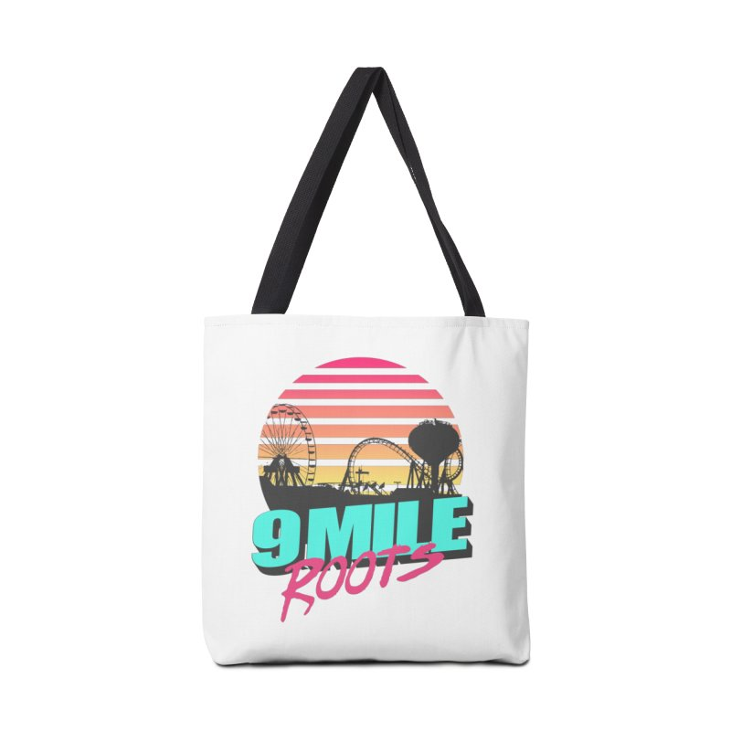 9 Mile Roots Ocean City Accessories Tote Bag Bag by MD Design Labs's Artist Shop