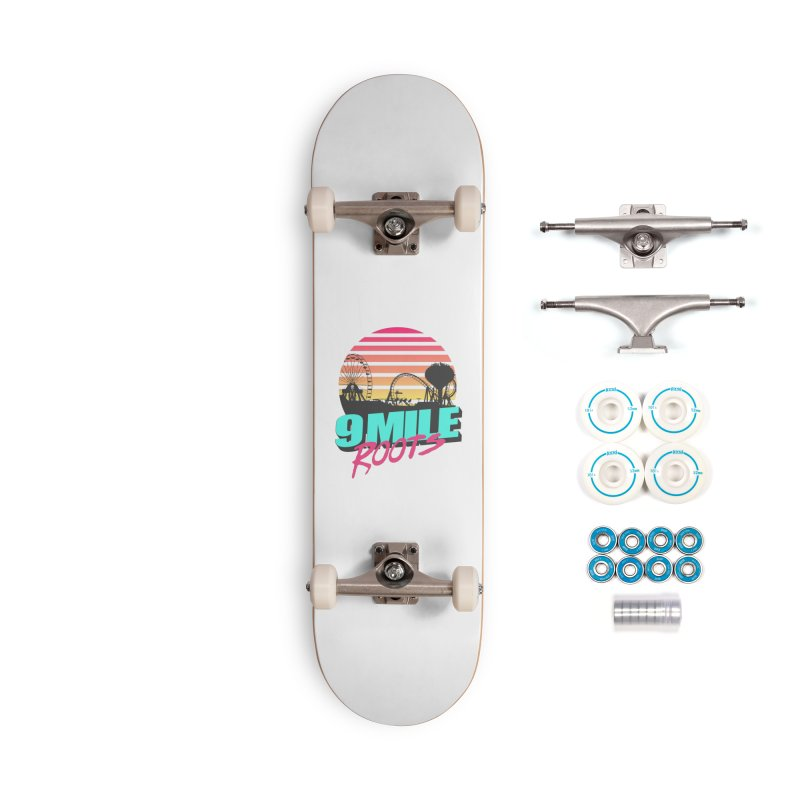 9 Mile Roots Ocean City Accessories Complete - Basic Skateboard by MD Design Labs's Artist Shop
