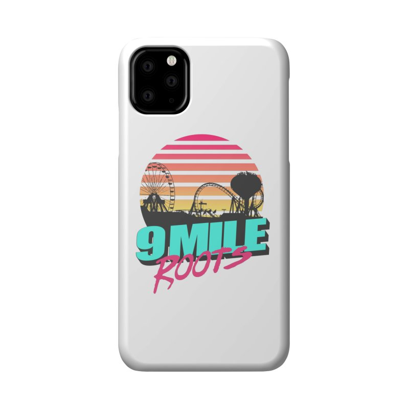 9 Mile Roots Ocean City Accessories Phone Case by MD Design Labs's Artist Shop