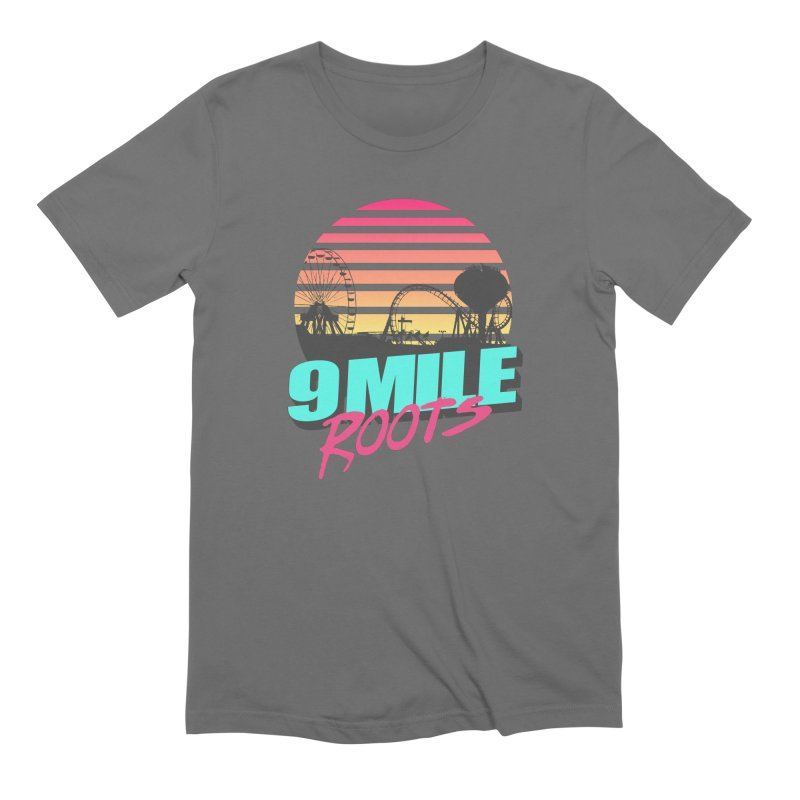 9 Mile Roots Ocean City Men's Extra Soft T-Shirt by MD Design Labs's Artist Shop