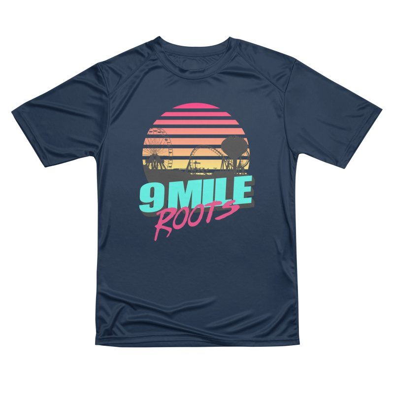 9 Mile Roots Ocean City Women's Performance Unisex T-Shirt by MD Design Labs's Artist Shop