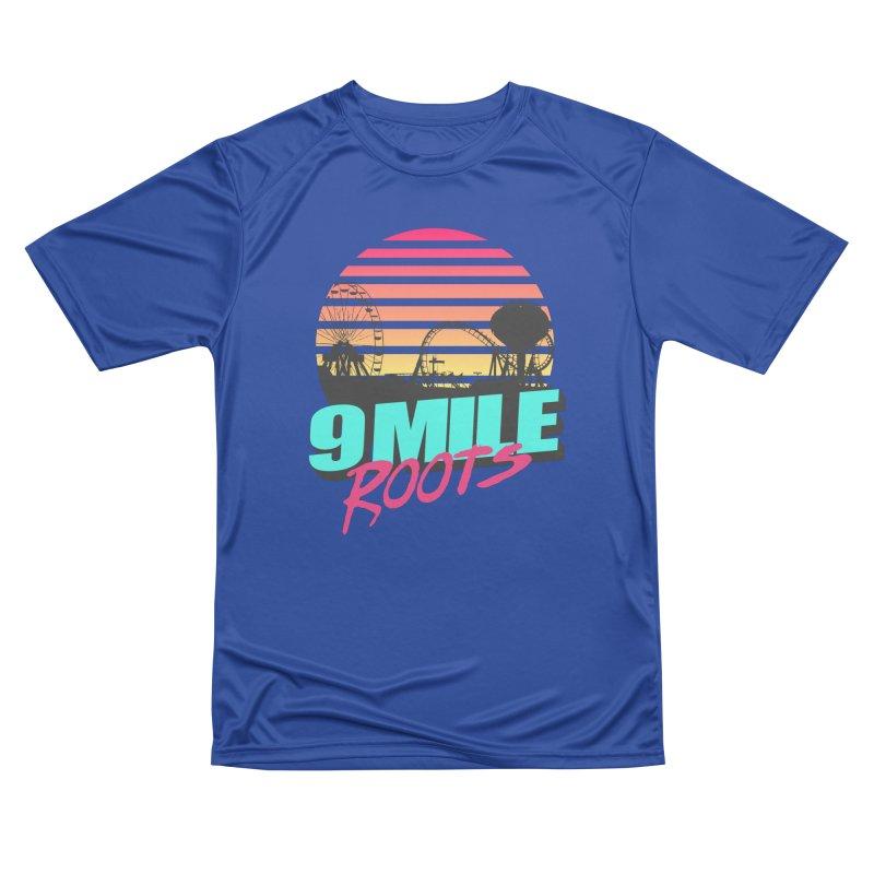 9 Mile Roots Ocean City Women's Performance Unisex T-Shirt by MD Design Labs's Artist Shop