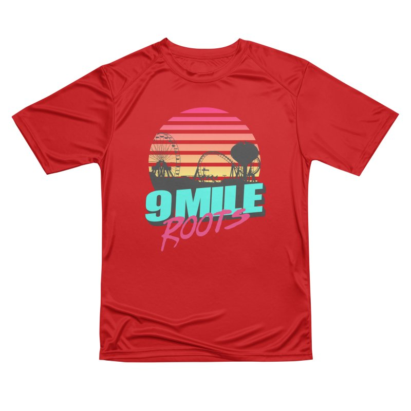 9 Mile Roots Ocean City Men's Performance T-Shirt by MD Design Labs's Artist Shop