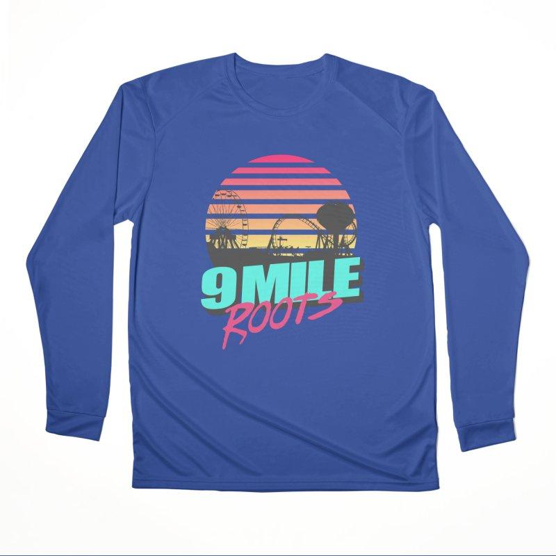 9 Mile Roots Ocean City Women's Performance Unisex Longsleeve T-Shirt by MD Design Labs's Artist Shop