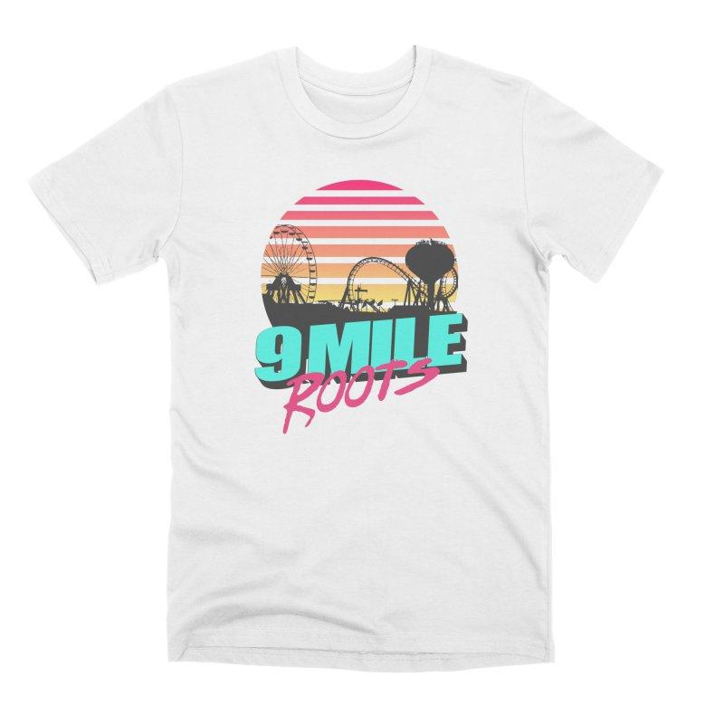 9 Mile Roots Ocean City Men's Premium T-Shirt by MD Design Labs's Artist Shop