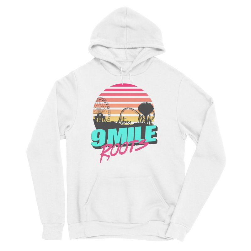 9 Mile Roots Ocean City Men's Sponge Fleece Pullover Hoody by MD Design Labs's Artist Shop
