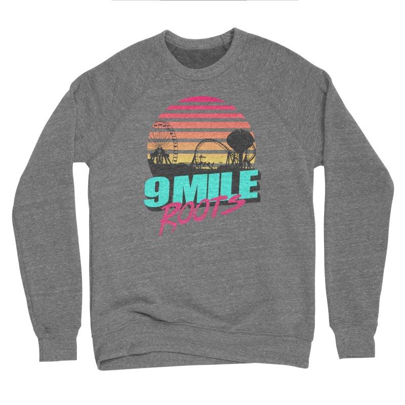 9 Mile Roots Ocean City Men's Sponge Fleece Sweatshirt by MD Design Labs's Artist Shop