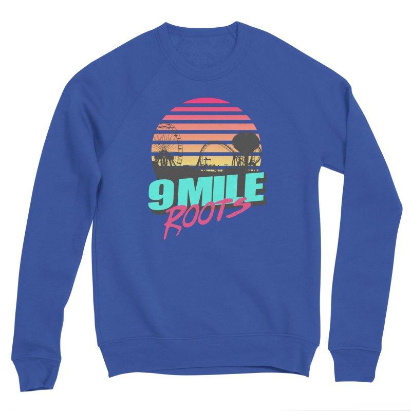 9 Mile Roots Ocean City Women's Sponge Fleece Sweatshirt by MD Design Labs's Artist Shop