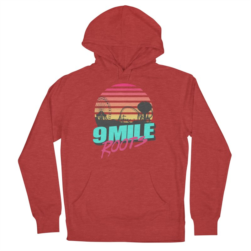 9 Mile Roots Ocean City Women's French Terry Pullover Hoody by MD Design Labs's Artist Shop