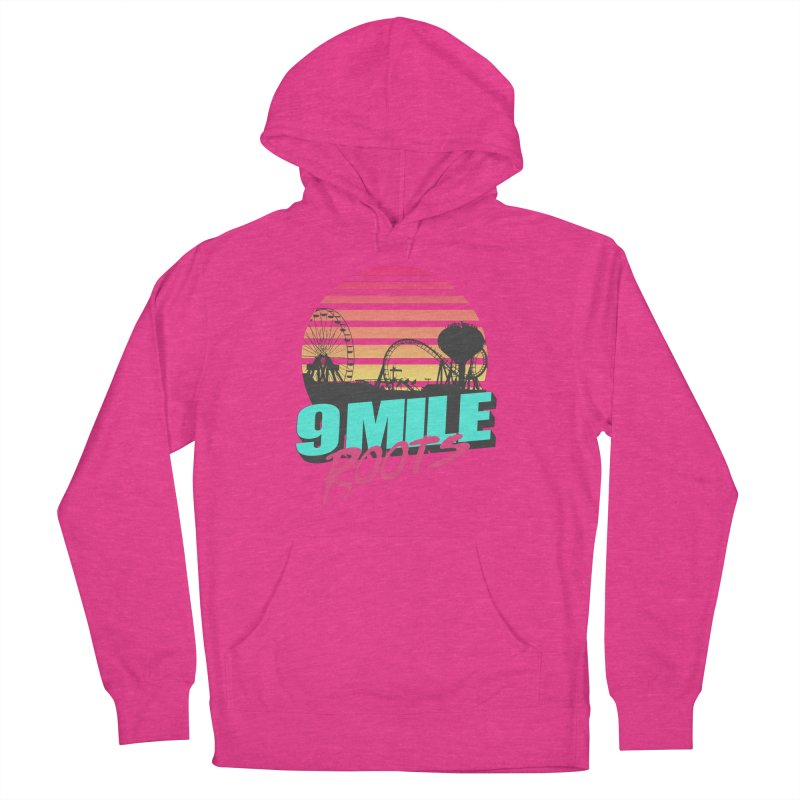 9 Mile Roots Ocean City Men's French Terry Pullover Hoody by MD Design Labs's Artist Shop