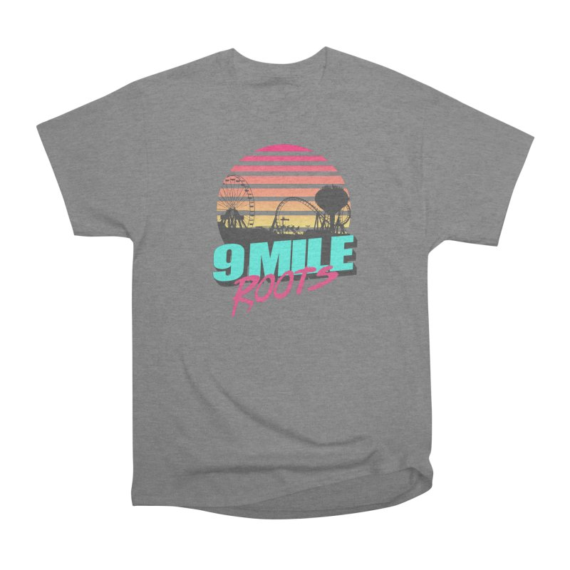 9 Mile Roots Ocean City Men's Heavyweight T-Shirt by MD Design Labs's Artist Shop
