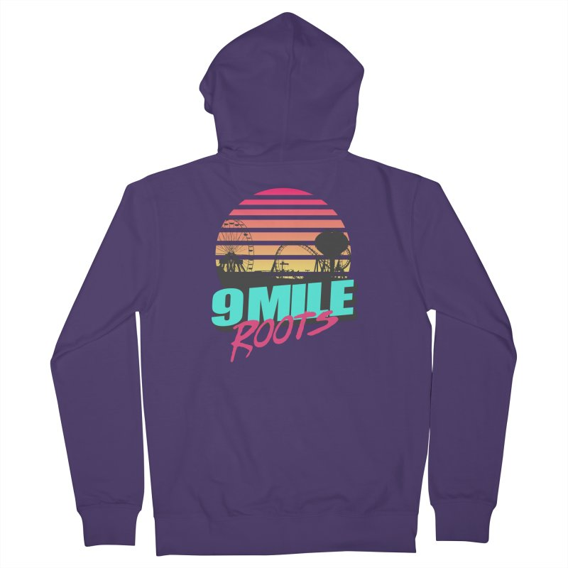 9 Mile Roots Ocean City Women's French Terry Zip-Up Hoody by MD Design Labs's Artist Shop