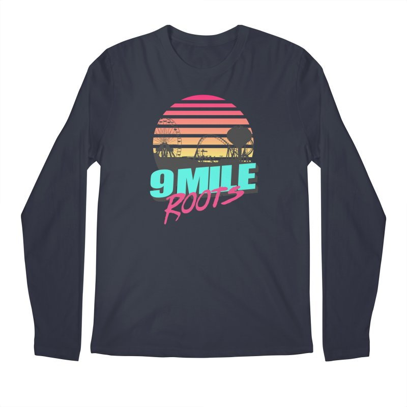 9 Mile Roots Ocean City Men's Regular Longsleeve T-Shirt by MD Design Labs's Artist Shop